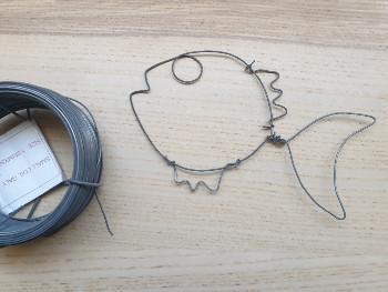 יצירות לילדים – חוטי ברזל