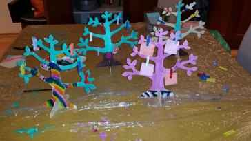 יצירות לילדים – עץ משאלות