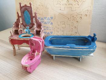 יצירות לילדים – ערכות הרכבה מעץ